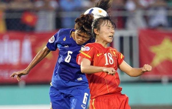 Thua Thái Lan 1-2 trong trận play-off, ĐT nữ Việt Nam mất vé dự World Cup 2015