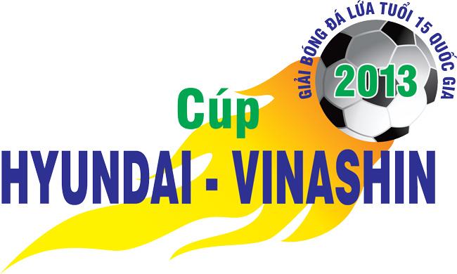 Lịch thi đấu VCK giải bóng đá lứa tuổi 15 QG- Cúp Hyundai Vinashin 2013