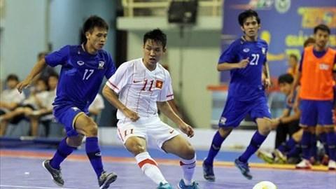 Giải Futsal quốc tế TP.HCM 2013: ĐT Futsal Việt Nam thua Thái Lan 1-3