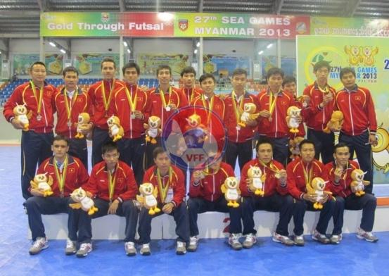 Chung kết Futsal nam SEA Games 27: Thua Thái Lan 1-8, Việt Nam nhận Huy chương Bạc