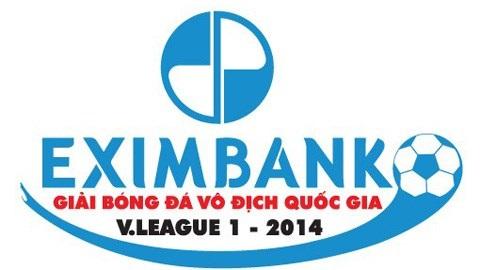 Lịch thi đấu lượt về giải bóng đá VĐQG Eximbank 2014