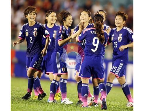 Bán kết VCK Asian Cup nữ 2014 (22/5): Nhật Bản - Trung Quốc, Hàn Quốc - Australia