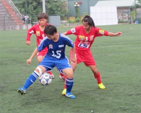 Lượt đi giải BĐ nữ lứa tuổi 19 QG 2014 (22/6): ĐKVĐ Hà Nội tiếp mạch chiến thắng