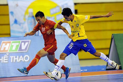 Giải futsal quốc tế TP.HCM 2013: Thắng ĐKVĐ thế giới Brazil, ĐT Việt Nam giành giải Ba