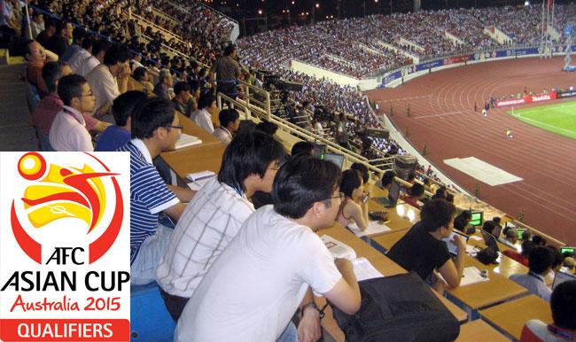 Thông báo làm thẻ PV trận đấu giữa ĐTVN và ĐT Uzbekistan (VL Asian Cup 2015)
