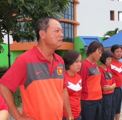 """HLV Nguyễn Duy Hùng: """"Việt Nam sẽ dốc sức cho trận đấu với Myanmar"""""""