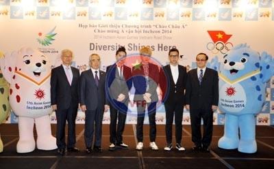 Họp báo tuyên truyền, quảng bá về Asiad 17 năm 2014
