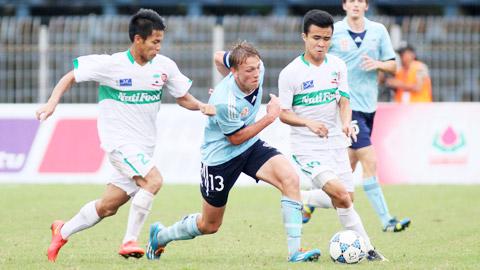 Giải bóng đá quốc tế U21 Báo Thanh Niên 2014: ĐT U19 HAGL - Arsenal JMG gặp U21 Việt Nam ở vòng bán kết