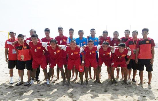 BXH bóng đá bãi biển thế giới 2014: ĐT Việt Nam xếp hạng 4 châu Á