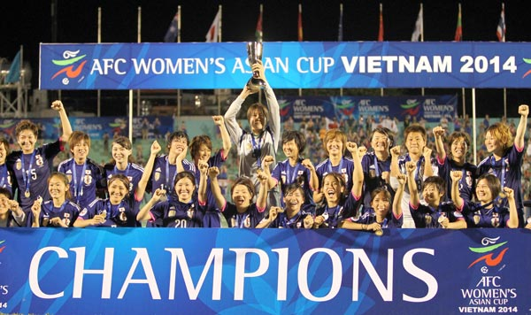 Biến Australia thành cựu vô địch, Nhật Bản lần đầu tiên đăng quang tại đấu trường châu lục