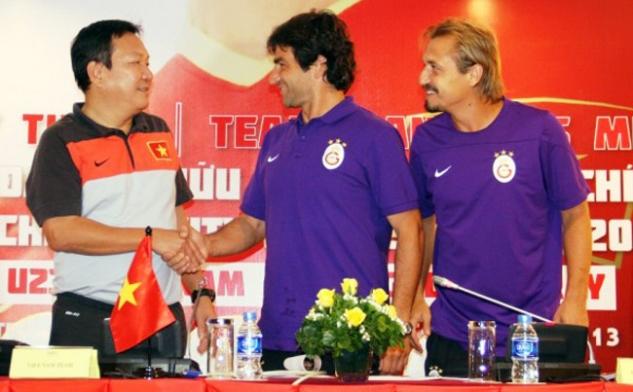Phát biểu trước trận giao hữu giữa ĐT U23 Việt Nam và U23 Galatasaray
