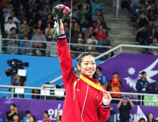 Hà Thanh mang về HCB cho thể thao Việt Nam