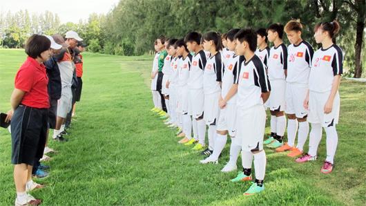 Danh sách ĐT U19 nữ tập trung đợt 2 chuẩn bị tham dự VL Asian Cup nữ 2015
