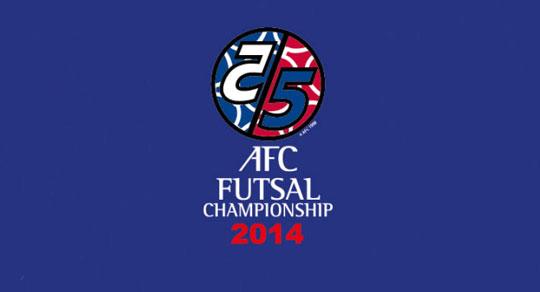 Lịch Truyền hình trực tiếp VCK Futsal châu Á 2014