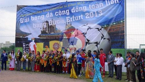 Giải bóng đá cộng đồng người Việt tại Đức: Magdeburg đăng quang