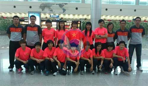 Sáng nay (27/9), ĐT Futsal nữ Quốc gia đi Myanmar thi đấu giải tiền SEA Games 27