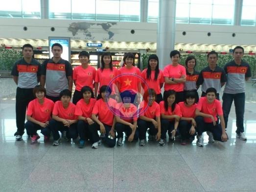 Danh sách đội tuyển Futsal nữ Quốc gia tập trung lần 2 chuẩn bị tham dự SEA Games 27