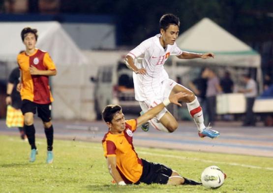 Giao hữu quốc tế, ĐT U23 Việt Nam thắng CLB U23 Galatasaray 2-1