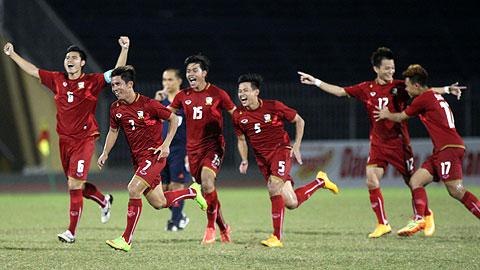 Giải bóng đá quốc tế U21 Báo Thanh Niên 2014: U21 Thái Lan gặp U19 HA.GL-Arsenal JMG trong trận chung kết