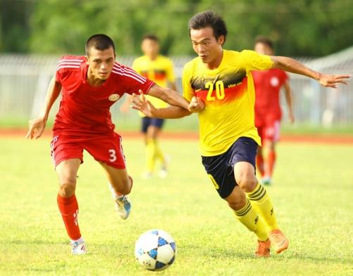 Kết quả vòng 6 giải bóng đá hạng Nhì QG 2013- Ngày 27/6