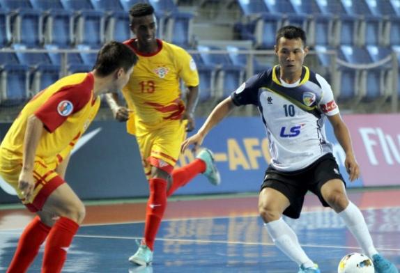 Thái Sơn Nam dừng bước tại VCK giải futsal Cúp các CLB châu Á 2013