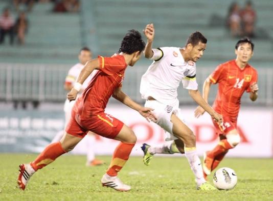 Giao hữu quốc tế, ĐT U23 Việt Nam thắng CLB U23 Santos 3-1