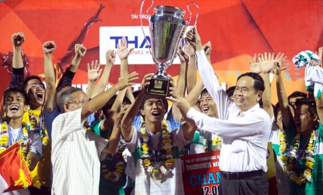U19 HAGL  Arsenal JMG vô địch giải bóng đá quốc tế U21 Báo Thanh Niên 2014