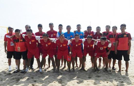 Chung kết bóng đá bãi biển ĐNÁ 2014: Thua Malaysia 4-6, Việt Nam giành giải Nhì