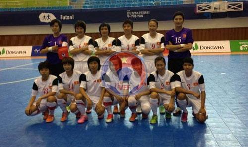 AIMAG 2013 (30/6): Đội tuyển Futsal nữ Việt Nam thắng thuyết phục Malaysia