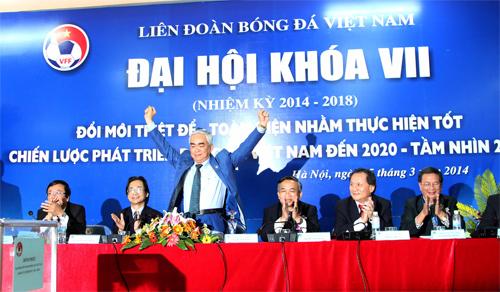 """Tân Chủ tịch LĐBĐVN Lê Hùng Dũng: """"Bóng đá Việt Nam sẽ xây nhà từ móng"""""""