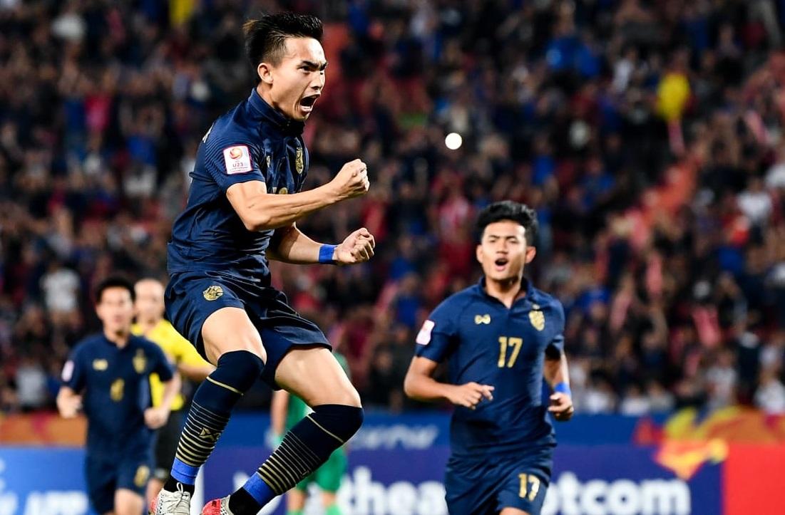 Chủ nhà U.23 Thái Lan lần đầu vào tứ kết