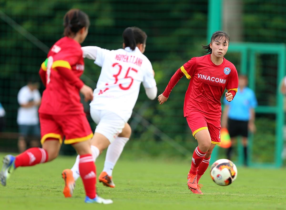 Xác định 4 CLB lọt vào bán kết Giải bóng đá Nữ Cúp Quốc gia 2020
